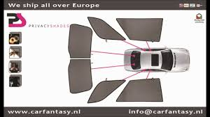 privacy shades installation and samples car fantasy youtube