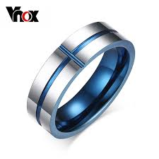 aliexpress buy vnox 2016 new wedding rings for women vnox new 100 tungsten carbide rings 6mm wedding bands men s