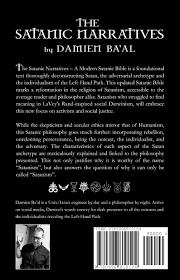 50 Meticulous Style Guides Every The Satanic Narratives A Modern Satanic Bible Damien Ba U0027al