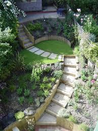 Sloping Garden Ideas Photos Best Sloping Garden Landscaping Ideas Terraced Slope Garden
