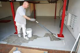 Rustoleum Garage Floor Coating Kit Instructions by Ucoat It Do It Yourself Epoxy Floor Coating Kit Install Rod