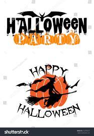 happy halloween text design royalty free vector image 19 333
