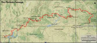 Plateau Of Mexico Map by Finding Solitude On The Plateau Passage Route Bike Magazine