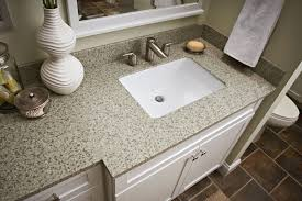 Types Of Bathroom Vanities by Vanity Top With Denova Vitreous China Undermount Rectangular Sink
