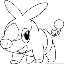 coloring pages nice tepig coloring pages pokemon snivy new tepig