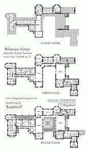 floor plan multi level home plans biltmore estate mansion upper