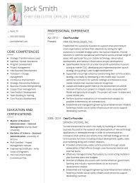 it cv template resume examples for it professionals sales