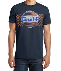 gulf racing logo apparel for the automotive race fan specializing in vintage and