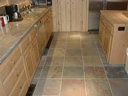 kitchens with tile floors nice home design