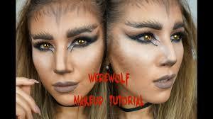 halloween werewolf makeup tutorial giveaway mona u0027s eyes youtube
