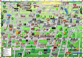springfield map downtown springfield map home