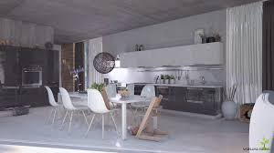 modern nordic kitchen freelancers 3d