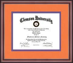 clemson diploma frame clemson diploma frame talking walls