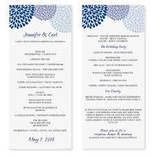 Wedding Bulletin Templates Event Program Template Tristarhomecareinc