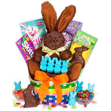premade easter basket premade easter basket by gourmetgiftbaskets