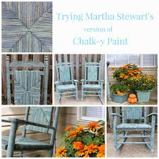 miss kopy kat trying martha stewart u0027s chalk y paint