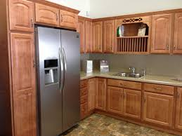 furniture stunning merillat cabinets for smart kitchen or rustic kitchen design with merillat cabinets plus huge refrigerator plus tile floor and sink