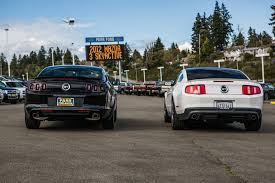 parr ford 2012 2013 side by side comparison mustang forums at stangnet