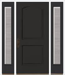 Two Panel Solid Wood Interior Doors Encompass By Pella Solid Panel Entry Two Panel Arch Exterior