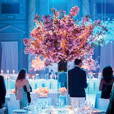 Cherry Blossom Tree Centerpiece by The Tall Cherry Blossom Centerpieces Added To The Enchanting