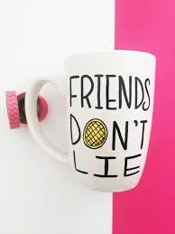 stranger things mug friends don u0027t lie coffee mug unique coffee