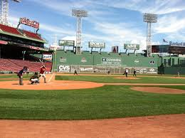 Fenway Park Seating Map Boston Area Reporters Beat New York In Annual Game At Fenway Park