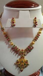 emerald necklace sets images Ruby emerald necklace set gold pinterest jewelry emerald jpg
