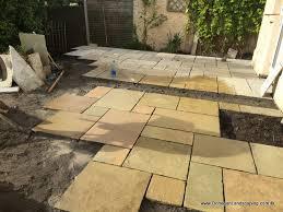 Limestone Patios Landscaping Yellow Limestone Patio Malahide Co Dublin U2013 Peter