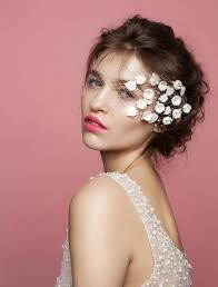traditional bridal hairstyle unveiled 20 non traditional veils for the modern bride brit co
