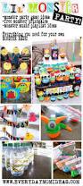 little monster bash birthday party ideas everyday mom ideas