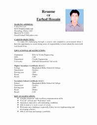 cv format resume 2 page resume format inspirational walton pany cv format bangladesh