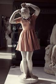 classical sculptures dressed as hipsters bored panda