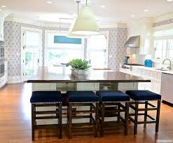One Wall Kitchen With Island Kitchen Ideas Trendy Single Wall Open Space Kitchen