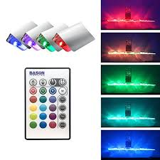 edge lighting change color led glass edge lighting kit for glass liquor shelf color changing