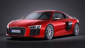 Audi R8 V10 - hq lowpoly audi r8 v10 plus 2016 squir