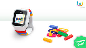 the first fashionable gps smart watch for kids pomo waffle by