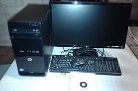ordinateur hp bureau pc de bureau hp
