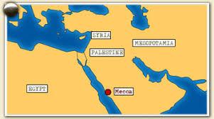 middle east map medina of arabia emerging middle east mecca arab revolt pbs