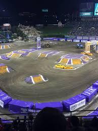 Angel Stadium Seating Map Angel Stadium Section V419 Row J Seat 3 Monster Jam 2015