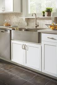 White Kitchen Base Cabinets Country Sink Base Cabinet Aristokraft Cabinetry