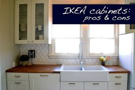 a home in the making renovate pros and cons of ikea cabinets