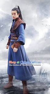 Chinese Halloween Costumes Ancient Chinese Swordsman Halloween Costumes Complete