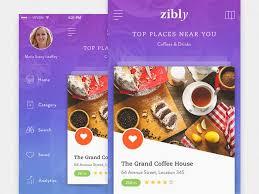 free finder app free fast food restaurant finder app free psd at freepsd cc