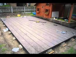 Backyard Deck Prices Outdoor Non Slip Tile Floor Design Eco Deck For Sale Perth Youtube