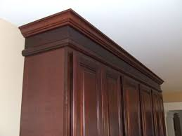 kitchen cabinets top trim trim idea for soffitt cabinet trim kitchen soffit