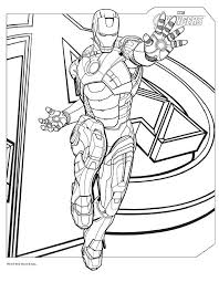Avengers Coloring Pages Best Coloring Pages For Kids Coloring Page Iron