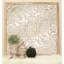 carved wooden wall pictures carved wood wall wayfair