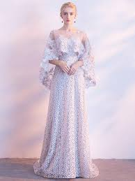 beautiful dress chic prom dresses a line bateau lace beautiful prom dress two