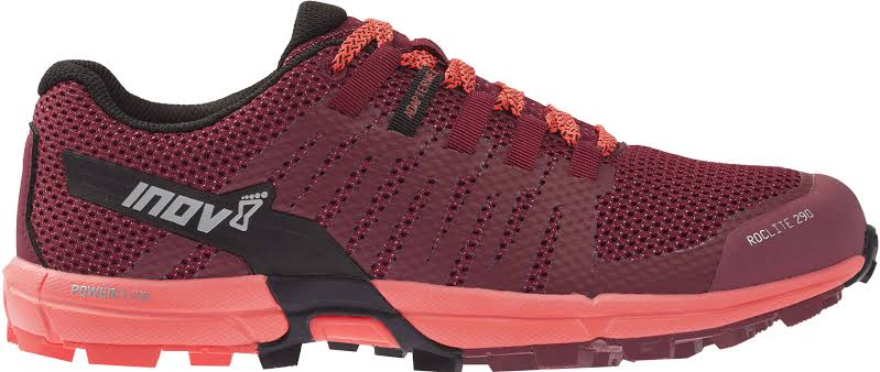 Inov8 Roclite 290 Trail Running Shoe Red/Coral 7.5 000564-RDCO-M-7.5