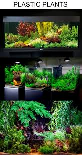 aquascaping with plastic plants only aquascaping ideas